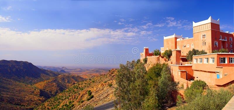 arabisk morocco slott arkivbild