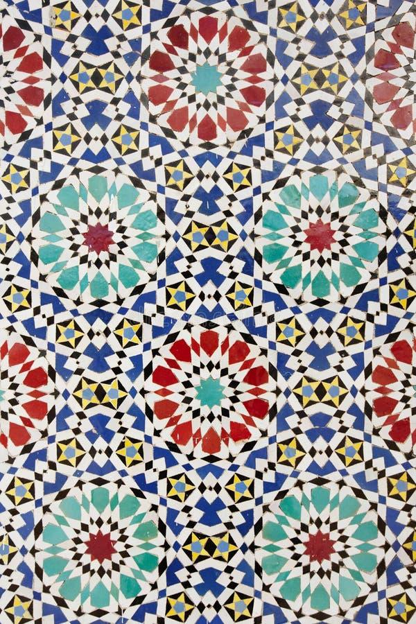 arabisk mosaik fotografering för bildbyråer
