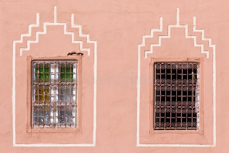 arabiska fönster royaltyfri foto