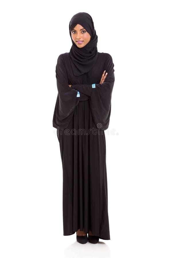 Arabiska korsade kvinnaarmar arkivfoto