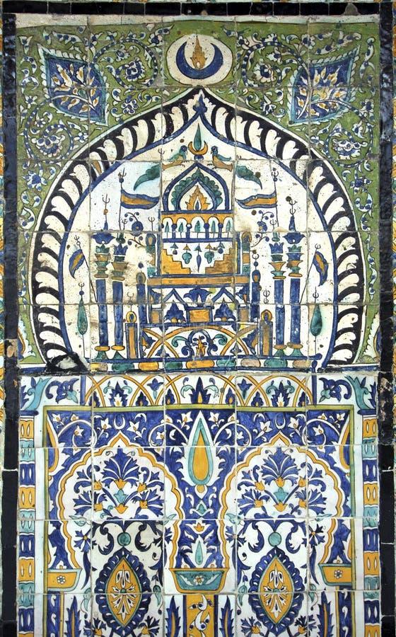 arabiska mosaik royaltyfri foto