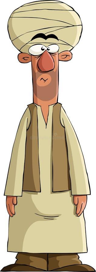arabiskt royaltyfri illustrationer