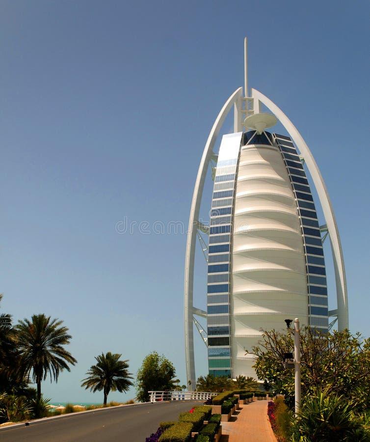 arabiskt burjhotell för al royaltyfri fotografi
