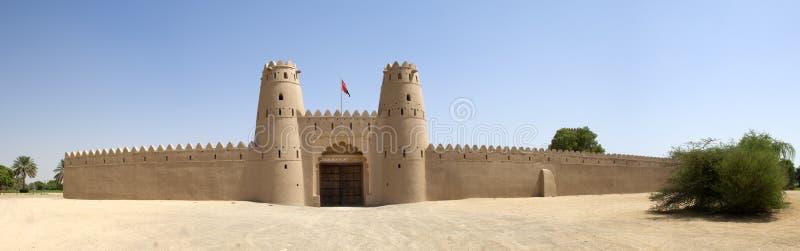 Arabiskt fort i Al Ain arkivfoton