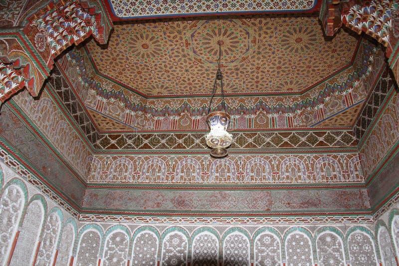 Arabo della parete del mosaico fotografia stock