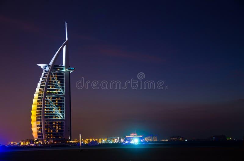 Arabo di Al di Burj fotografia stock libera da diritti