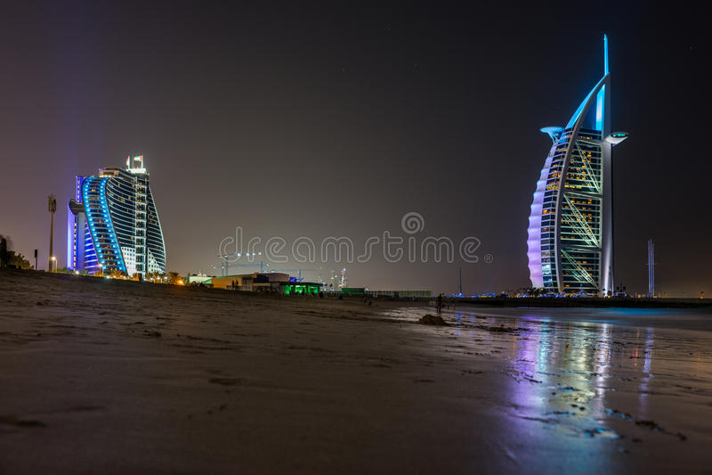 Arabo di Al di Burj in Doubai fotografie stock