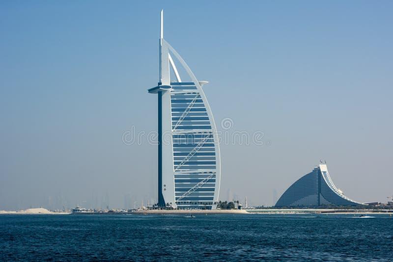 Arabo di Al di Burj, Doubai fotografia stock libera da diritti