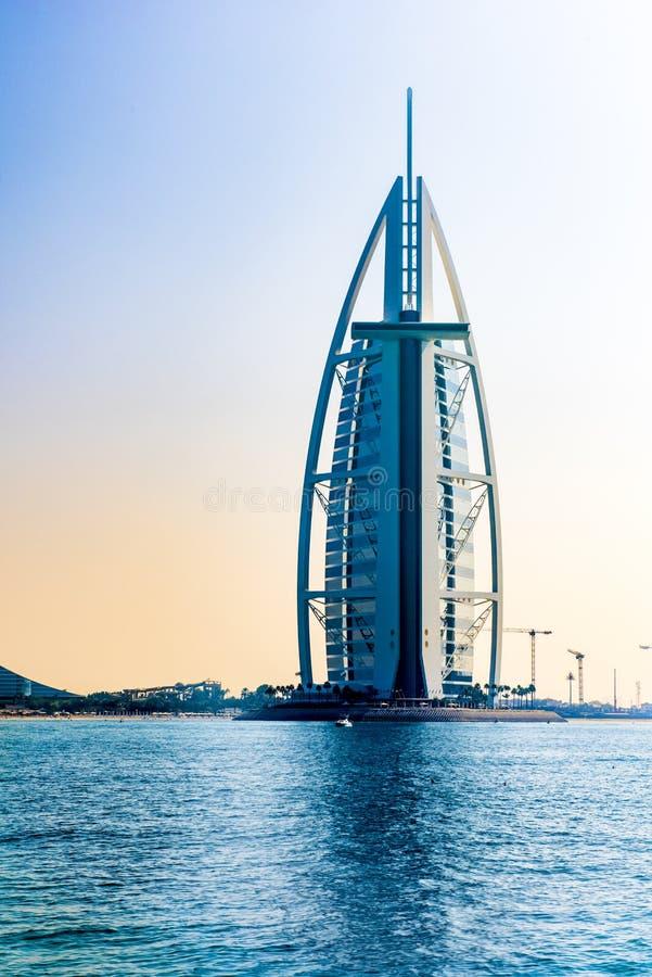 Arabo di Al di Burj, Doubai immagini stock