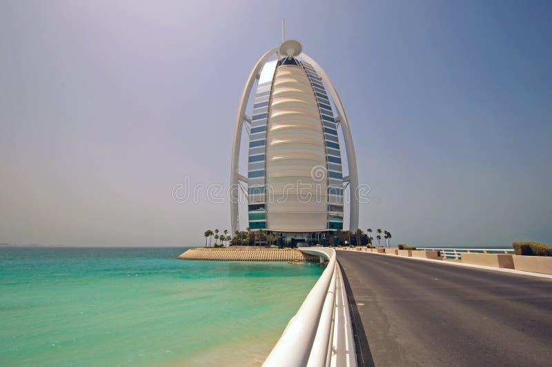 Arabo di Al di Burj - giorno immagine stock