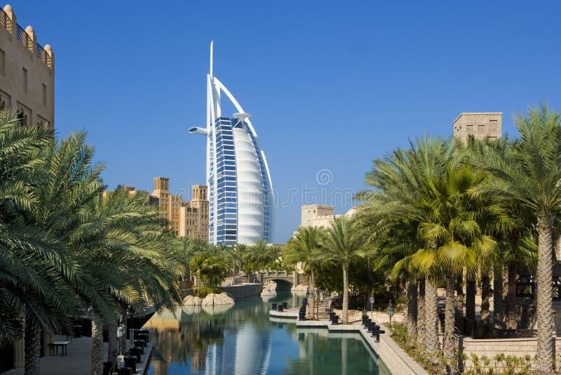 Arabo Doubai di Al di Burj fotografia stock libera da diritti