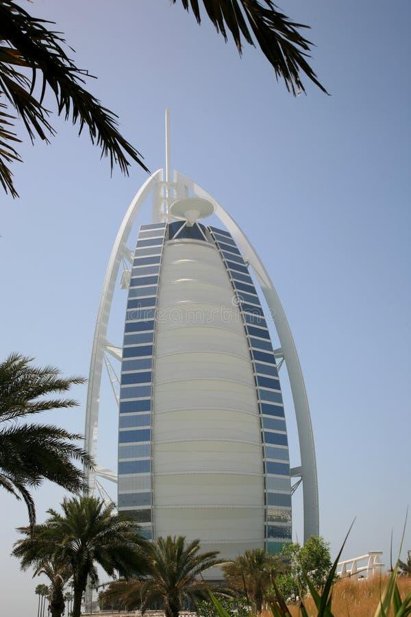 Arabo Dubai di Burj immagine stock