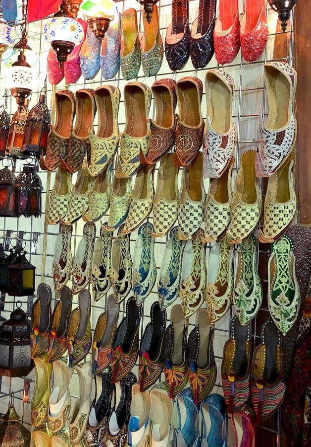 Arabscy buty zdjęcie royalty free