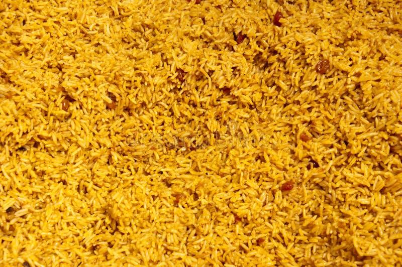arabscy kabsa posiłku ryż fotografia royalty free