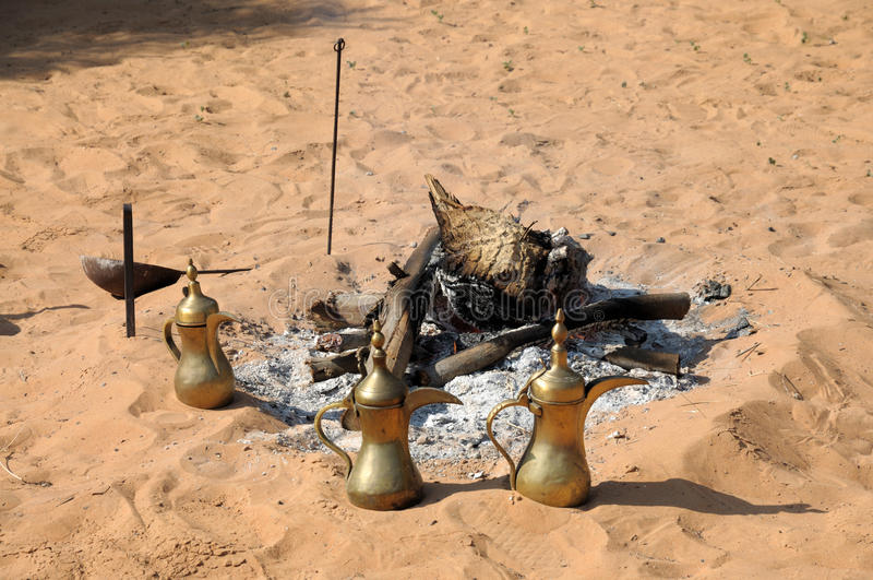 arabscy kawowi garnki obraz royalty free