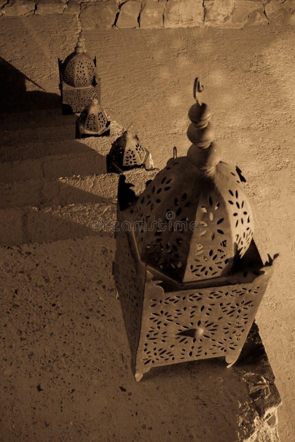 arabscy schodki fotografia stock