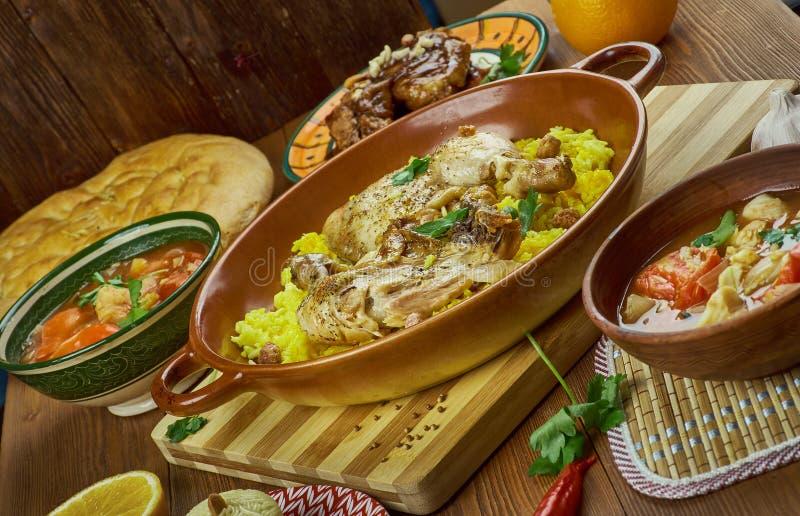 Arabska kuchnia obrazy royalty free