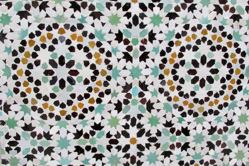Arabska mozaiki dekoracja