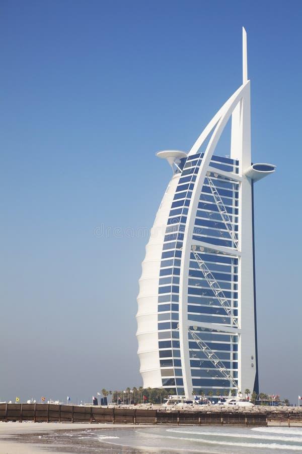arabski al burj Dubai uae obrazy stock
