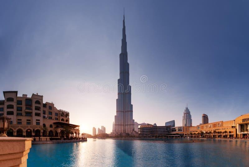 arabski burj Dubai emiratów khalifa jednoczący fotografia royalty free