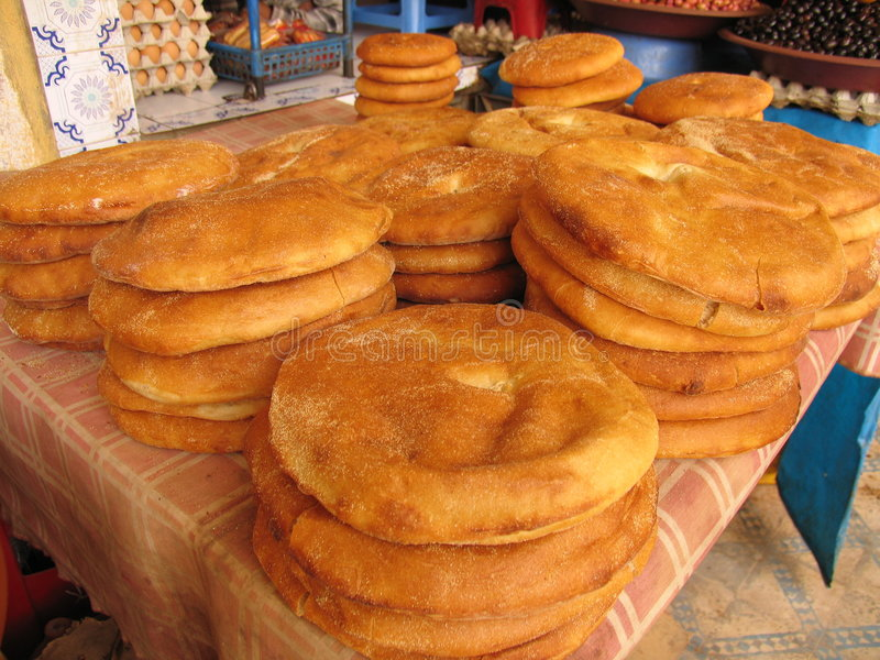arabski chleb obraz stock