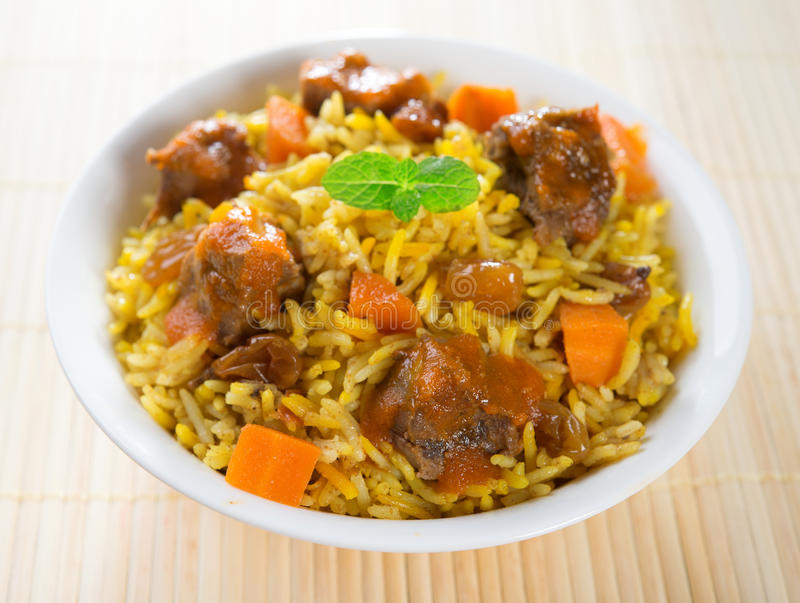 Arabski jedzenie. fotografia stock