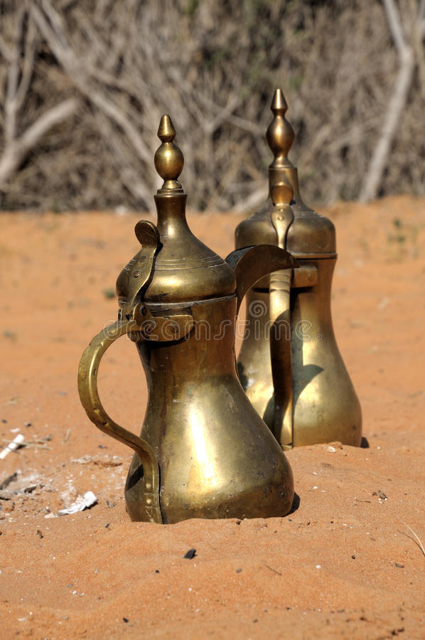 arabski kawowy garnek obrazy stock