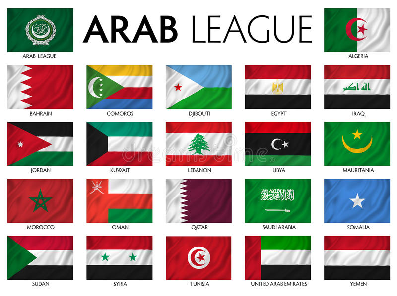 Arabski liga ilustracji