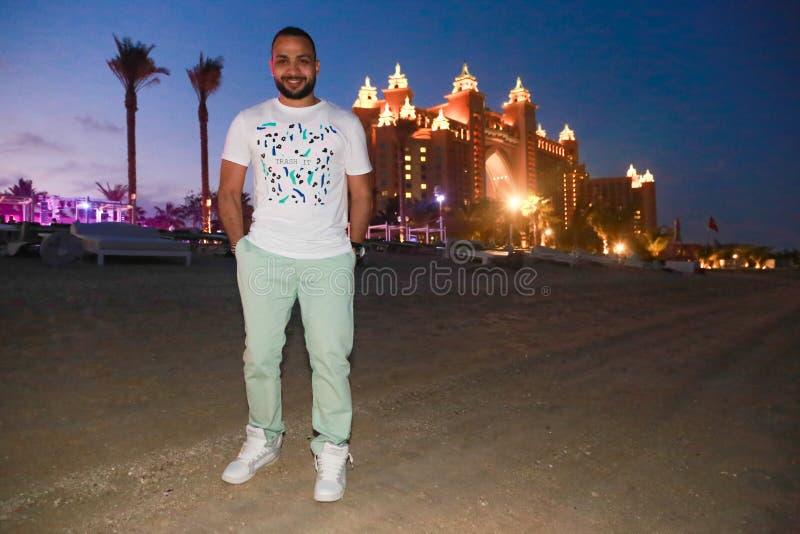 Arabski mężczyzna - Dubaj zdjęcie stock