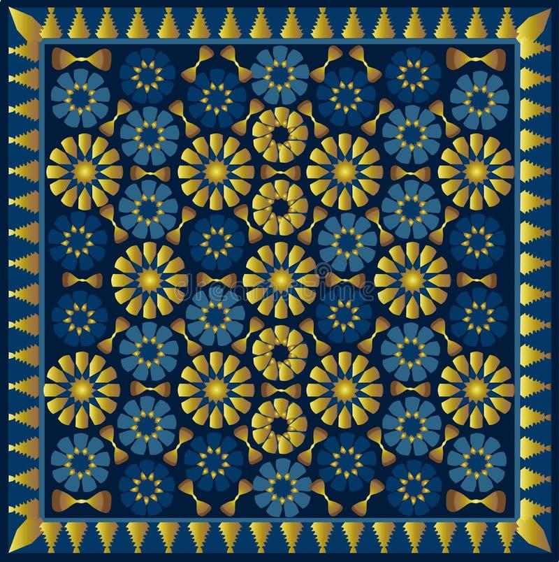arabski ornament ilustracja wektor