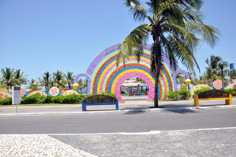 Aracaju embroma el parque público imágenes de archivo libres de regalías