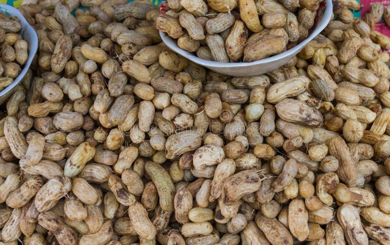 Arachides bouillies photographie stock