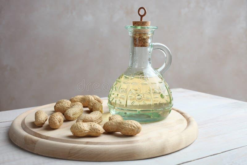 Arachides et beurre d'arachide photos libres de droits