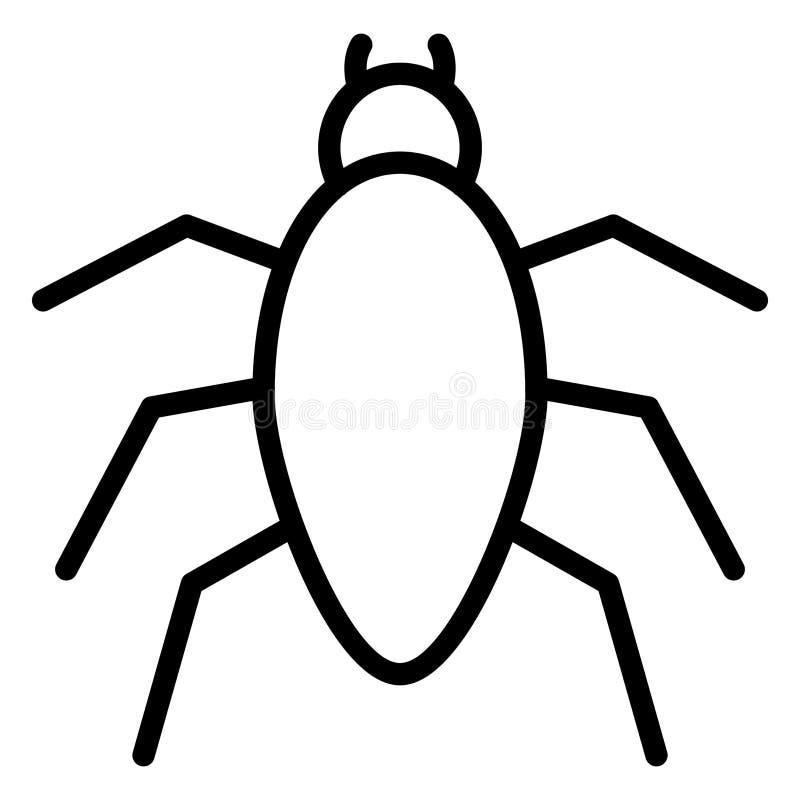 Arachnid Isolated Vector Icon, das leicht zu ändern oder zu bearbeiten ist vektor abbildung