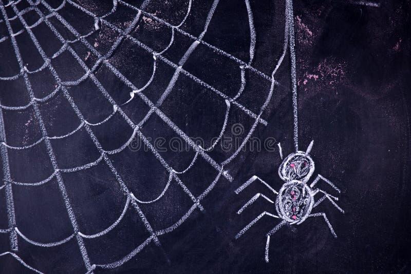 Arachnophobia: Strach pająki zdjęcia royalty free