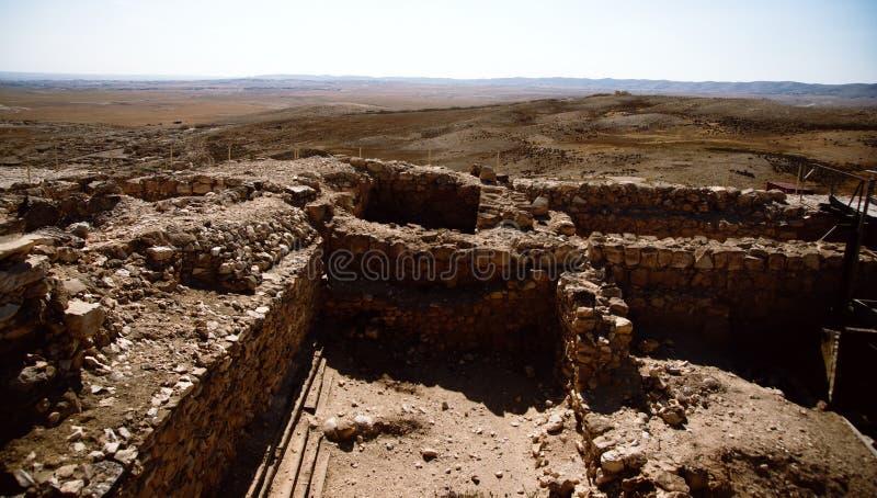 arad国家公园tel 库存照片