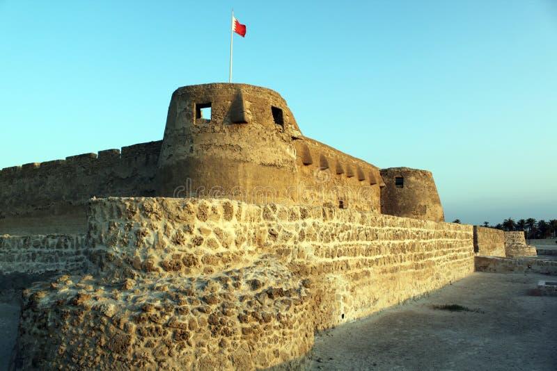 Arad. Big fort Arad in Manama city, Bahrein royalty free stock photos