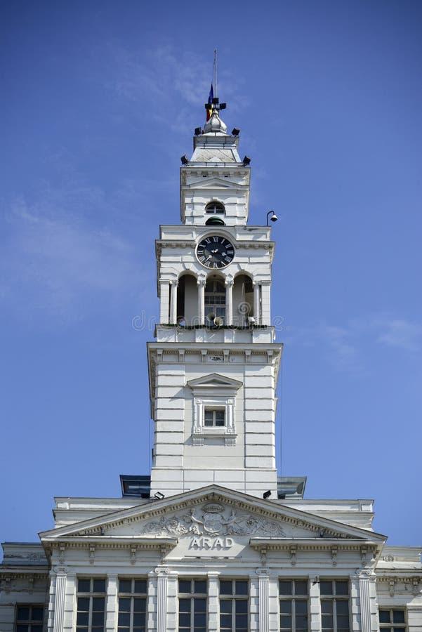 Arad City Hall photos libres de droits