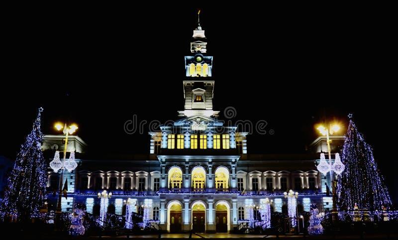 Arad. City Hall of Arad Romania royalty free stock images