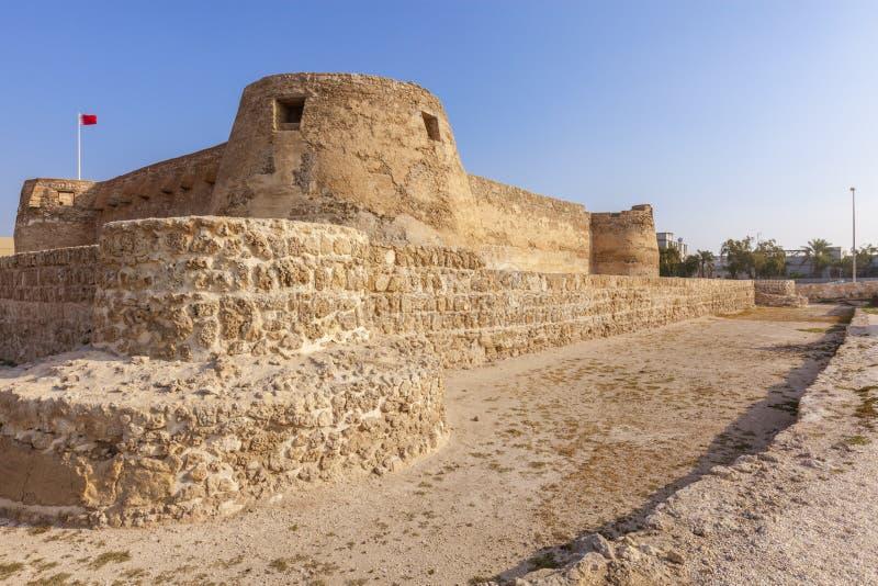 Arad Fort in Arad. Manama. Manama. Manama, Bahrain royalty free stock photos