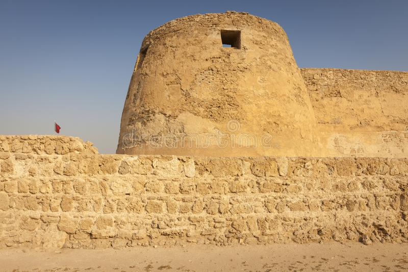 Arad Fort in Arad. Manama. Manama. Manama, Bahrain royalty free stock images