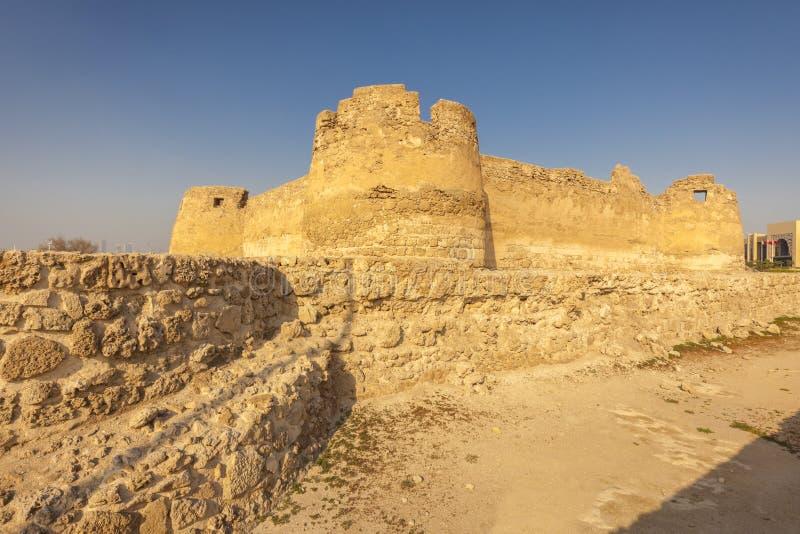 Arad Fort in Arad. Manama. Manama. Manama, Bahrain royalty free stock photography