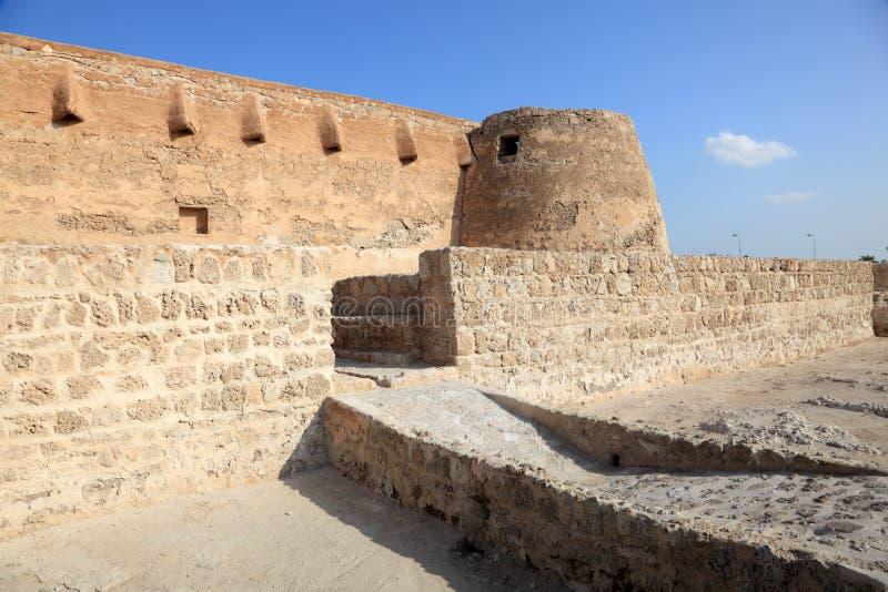 Arad Fort em Muharraq. Barém imagens de stock