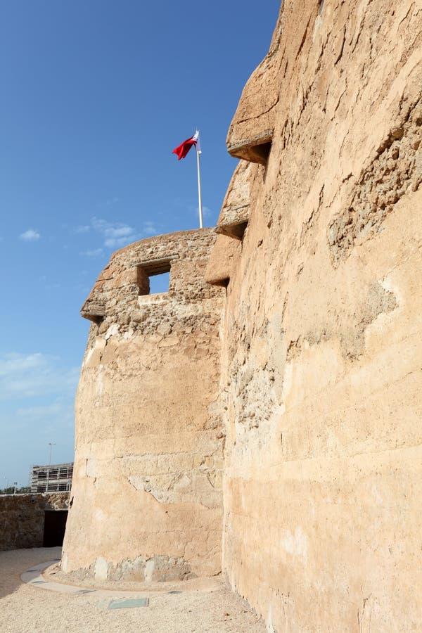 Arad Fort em Muharraq. Barém foto de stock