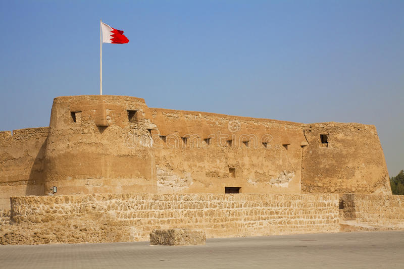 Arad Fort, Manama, Bahrain. Image of Arad Fort, Manama, Bahrain royalty free stock images