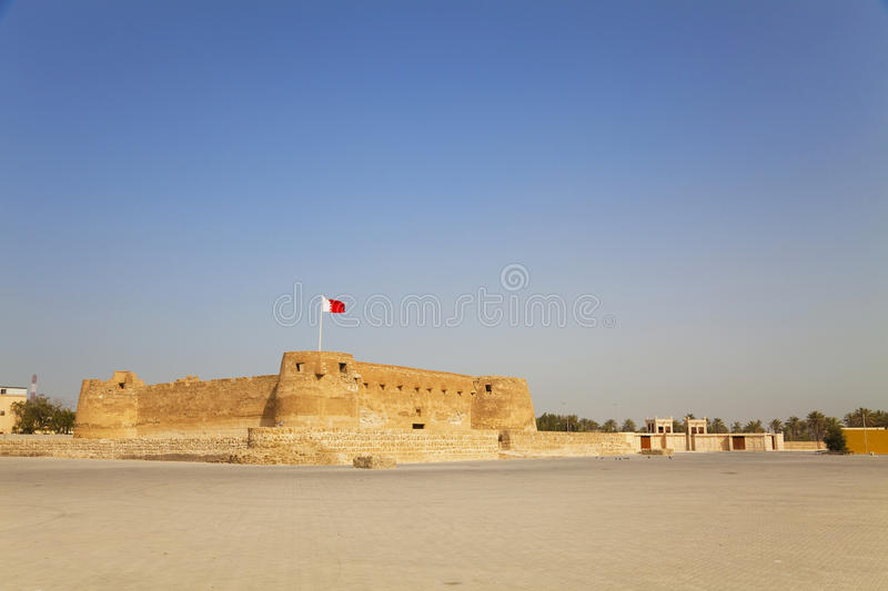 Download Arad Fort, Manama, Bahrain stock image. Image of protection - 14582485