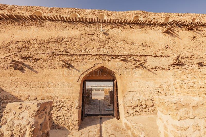 Arad Fort in Arad. Manama. Manama. Manama, Bahrain stock image