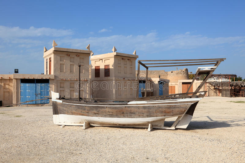 Arad Fort in Muharraq. Bahrain. Middle East stock photo
