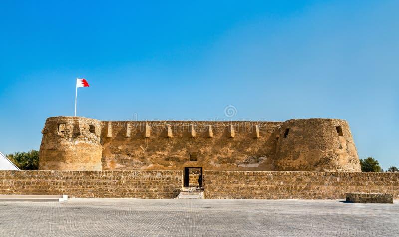 Arad Fort på den Muharraq ön i Bahrain royaltyfri fotografi