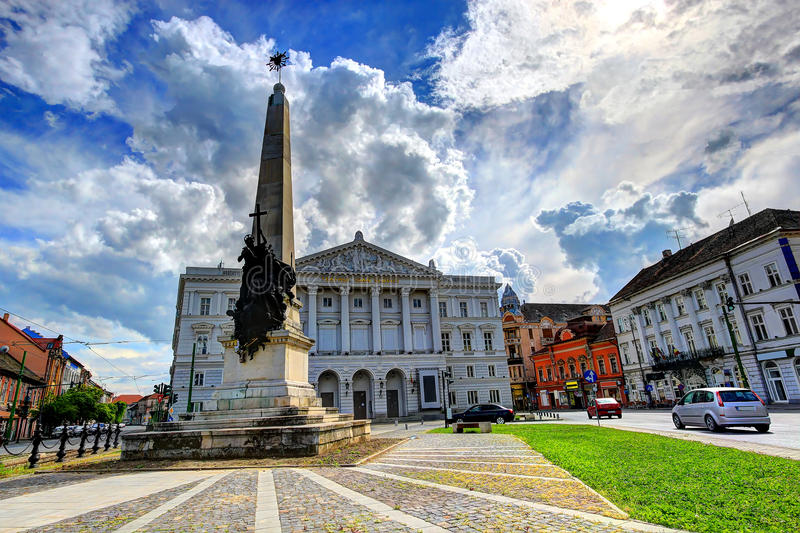 Arad, Romania immagine stock libera da diritti